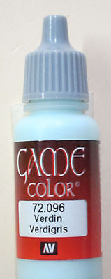 72096 Vallejo Game Color Paint: 17ml Verdigris