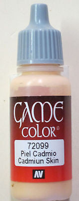 72099 Vallejo Game Color Paint: 17ml Cadmiun Skin