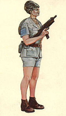 Kit# 9934 - Female Israeli Soldier