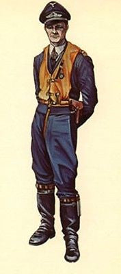 Kit# 9873 - German Night Fighter Pilot