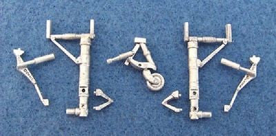 "SAC 48115 Ki-46 ""Dinah"" Landing Gear For 1/48th Scale Tamiya Model"
