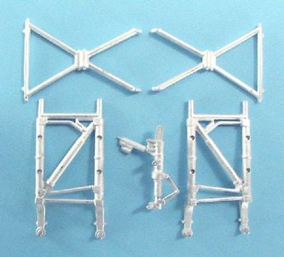 SAC 72035 Vickers Valiant Landing Gear For 1/72nd Scale Airfix Model