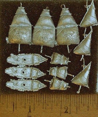 Valiant Miniatures Spanish Main Kit# 9107 - Galleon of Small Burthen