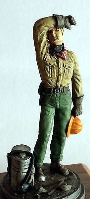 Kit# 9986 - Fireman - Brush Firefighter, 1960