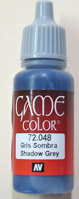 72048 Vallejo Game Color Paint: 17ml  Sombry Grey