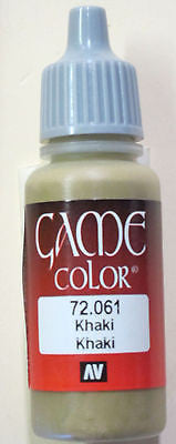 72061 Vallejo Game Color Paint: 17ml Khaki