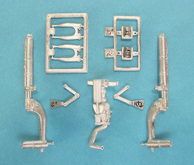 SAC 24006 P-51D Mustang Landing Gear for 1/24th Scale Trumpeter Model