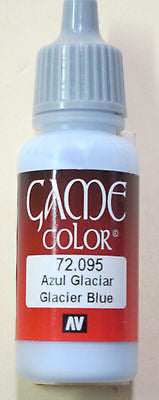 72095 Vallejo Game Color Paint: 17ml Ice Blue