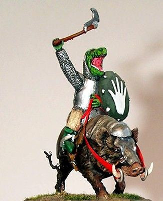 Kit# 9870 - Man-Orc Riding a War-Boar