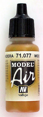 71077 Vallejo Model Airbrush Paint 17 ml Wood