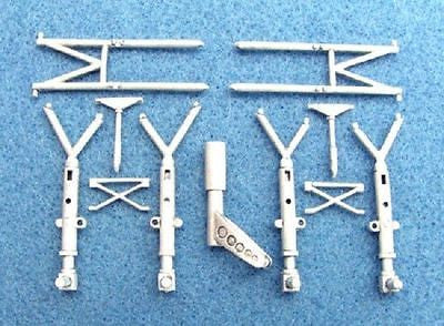 SAC 48122 Savoia-Marchetti SM.79 Landing Gear For 1/48th Scale Trumpeter