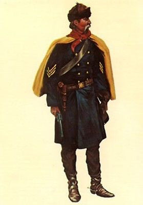 Kit# 9875 - US Cavalry Trooper, 1890