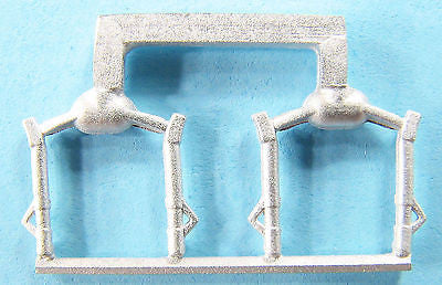 SAC 14421 Spitfire Landing Gear for 1/144th Scale Eduard Model (2 Sets)