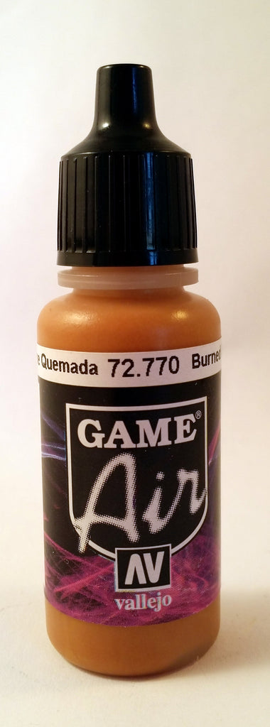 72770 Vallejo Game Airbrush Paint: 17ml Burned Flesh