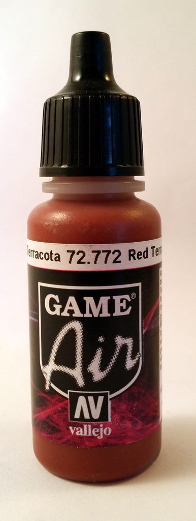 72772 Vallejo Game Airbrush Paint: 17ml Red Terracotta