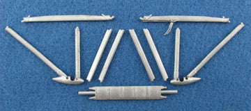 SAC 32034 S.E.5a (Early) Landing Gear & Struts For 1/32nd Scale Roden/Encore