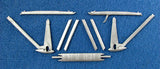 SAC 32035 S.E.5a (Late) Landing Gear & Struts For 1/32nd Scale Roden/Encore
