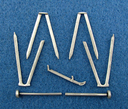 SAC 32036 Fokker Dr.1/F.1 Landing Gear & Struts For 1/32nd Scale Roden/Encore