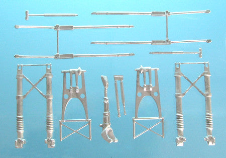 SAC 32056 Heinkel He III Landing Gear For 1/32nd Scale Revell Model