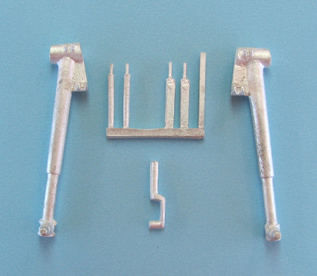 SAC 32057 Dewoitine D.520 Landing Gear For 1/32nd Scale Azur Model