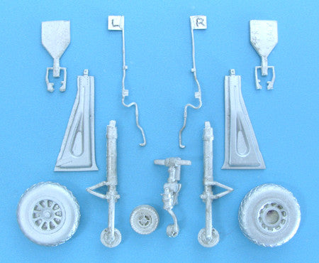 SAC 32059 P-51 Landing Gear  For 1/32nd Scale Trumpeter Model