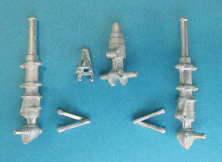 SAC 32072 Westland Lynx HA S.3, Mk88 Landing Gear for 1/32nd  Scale Revell
