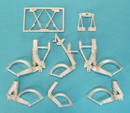 SAC 32082 Gloster Meteor Landing Gear For: 1/32nd  Hong Kong Models