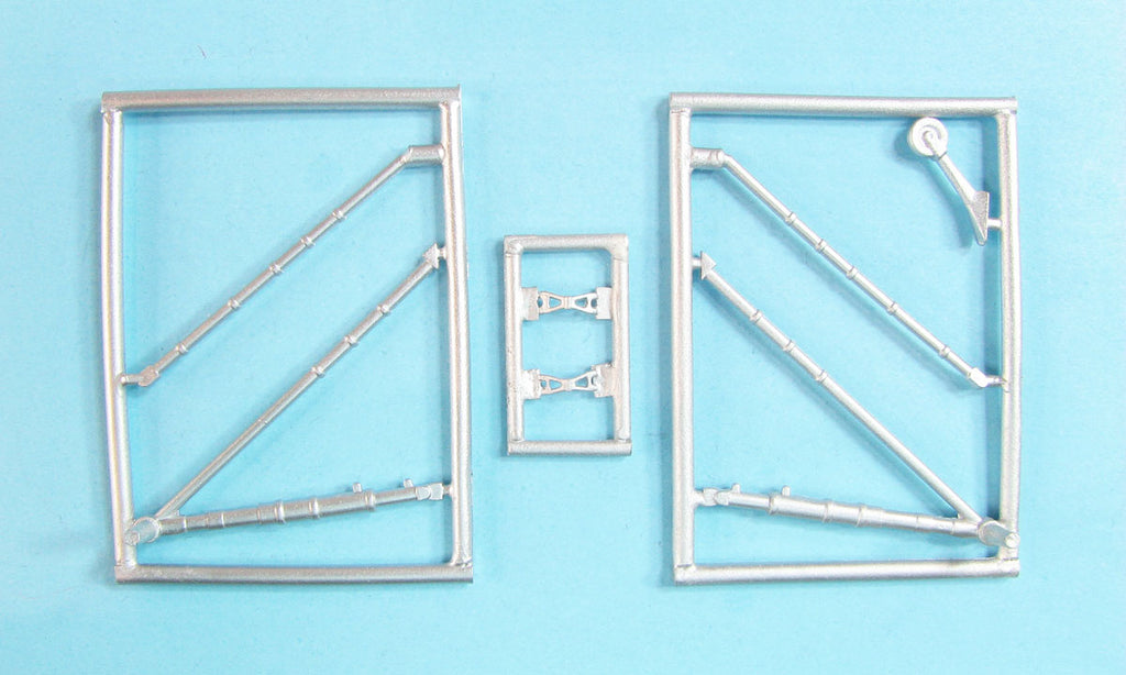 SAC 32130  I-16 Type 24/28 Landing Gear replacement for 1/32nd ICM, Revell, Hasegawa