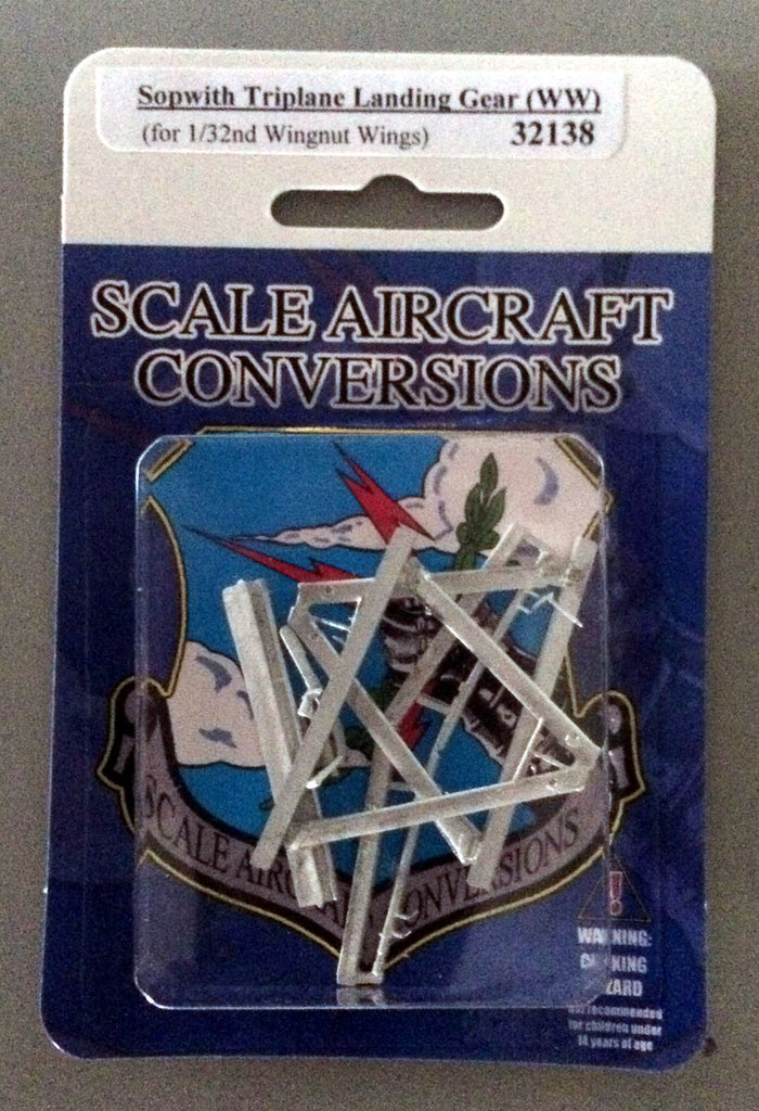 SAC 32138 Sopwith Triplane Landing Gear For 1/32nd Scale Wingnut Wings