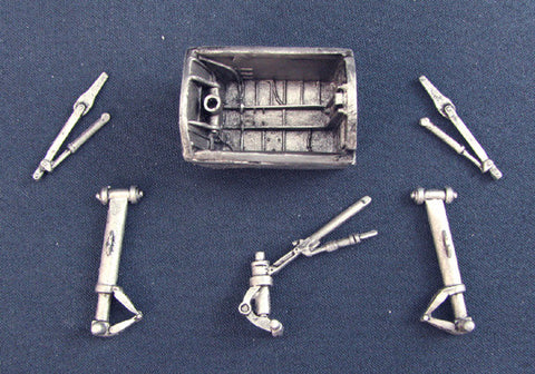 SAC 48010 Canberra Landing Gear For 1/48th Scale Classic Airframes Model