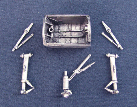 SAC 48011 B-57 Landing Gear For 1/48th Scale Classic Airframes Model