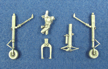 SAC 48025 AV-8B Harrier Landing Gear For 1/48th Scale Hasegawa, Revell Model
