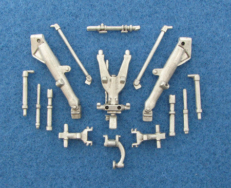 SAC 48037 Jaguar Landing Gear For 1/48th Scale Airfix, Heller, Eduard Model