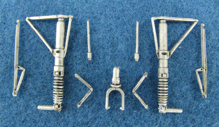 SAC 48056 Bf-110 Landing Gear For 1/48th Scale Eduard Model