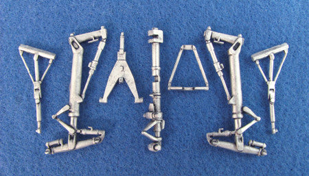 SAC 48069 Mirage lV Landing Gear For 1/48th Scale Heller Model