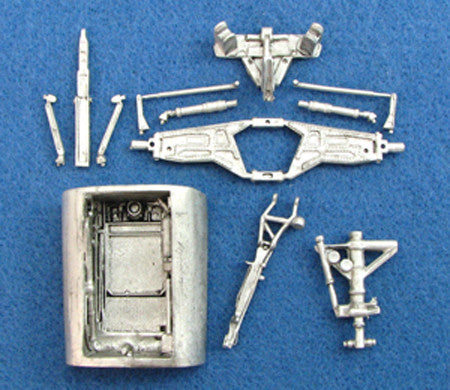 SAC 48074 F-111 Landing Gear For 1/48th Scale Academy Model