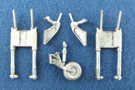 SAC 48078 Mitsubishi G4M Betty Landing Gear For 1/48th Scale Tamiya Model