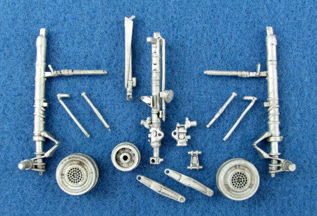 SAC 48080 Su-27 Flanker Landing Gear For 1/48th Scale Academy Model