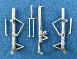 SAC 48086 P-38 Landing Gear For 1/48th Scale Hasegawa or Revell Model