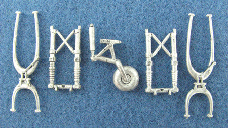 SAC 48087 Sturmovil Landing Gear For 1/48th Scale Accurate Miniatrues/Italeri