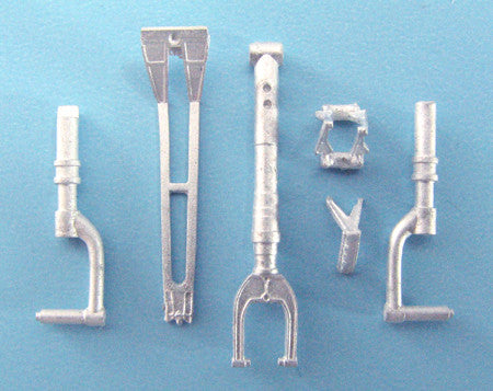 SAC 48141 P-39/P-400 Landing Gear For 1/48th Scale Eduard Model