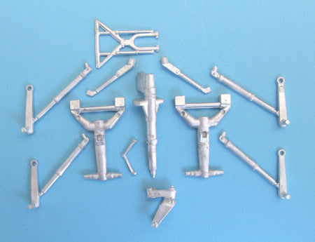 SAC 48178 Ta 154 Moskito Landing Gear 1/48th Scale R/M, DML Models