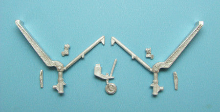 SAC 48192 F2A-3 Buffalo Landing Gear For 1/48th Scale Special Hobby