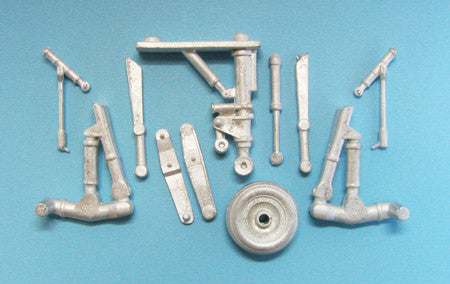 SAC 48199 Su-25 Frogfoot Landing Gear 1/48th  Scale for Kopro and Eduard Models