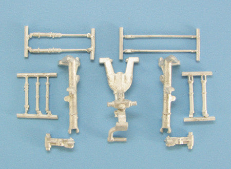 SAC 48210 Sepecat Jaguar Landing Gear  For 1/48th Kitty Hawk Model