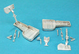 SAC 48218 Supermarine Attacker Landing Gear for 1/48th  Scale Trumpeter Models
