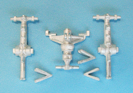 SAC 48220 Merlin HC3 Landing Gear for 1/48th  Scale Airfix Models