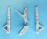 SAC 48221 Vampire Landing Gear for 1/48th  Scale Trumpeter Models -
