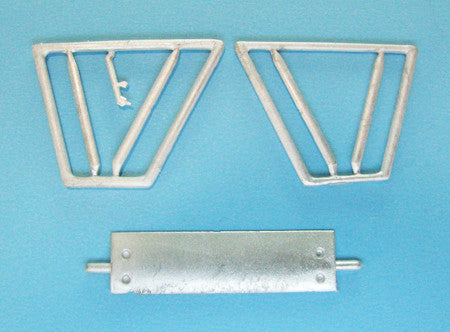 SAC 48223 Fokker D.VII Landing Gear for 1/48th  Scale Eduard Models