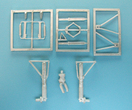 SAC 48229 Bf 110 Landing Gear For 1/48th Revell / Pro Modeler Model